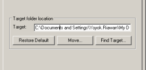 Documents folder location